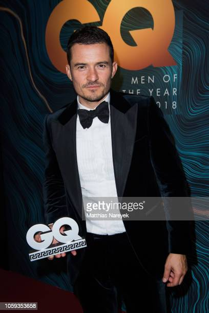 Style Awardwinner Orlando Bloom attends the GQ Men of the Year Award after show party at Komische Oper on November 8 2018 in Berlin Germany