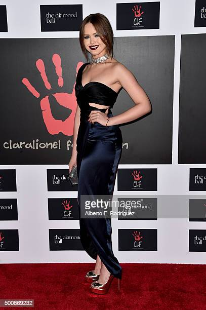 Style blogger Kristina Bazan attends the 2nd Annual Diamond Ball hosted by Rihanna and The Clara Lionel Foundation at The Barker Hanger on December...