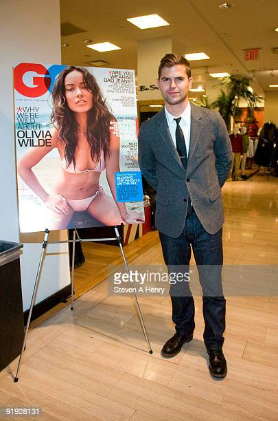 Style correspondent Brett Fahlgren attends Macy's & GQ Magazine's Men's Night at Macy's Herald Square on October 15, 2009 in New York City.