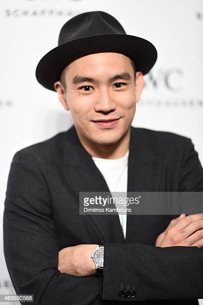 Style Director Eugene Tong attends the IWC Schaffhausen Third Annual 'For the Love of Cinema' Gala during the Tribeca Film Festival on April 16 2015...