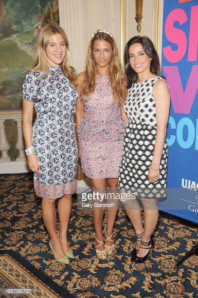 Style director Nylon magazine Dani Stahl and designers Charlotte Ronson and Shoshanna Lonstein Gruss attend the 2013 UJAFederation of New York's...