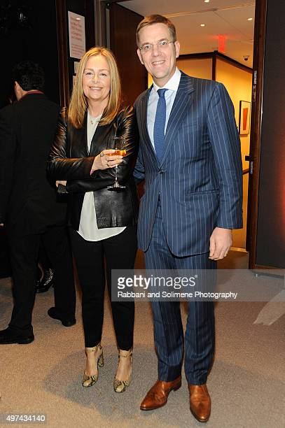 Style Editor at The Observer, Sarah Kennedy and president and CEO of Hearst Magazines International, Duncan Edwards attend as Stephen Hannock & Sting...