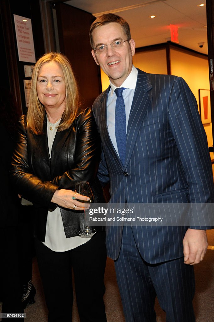 """Stephen Hannock & Sting Celebrate Their New Book """"The Last Ship"""" at Hearst Tower"""