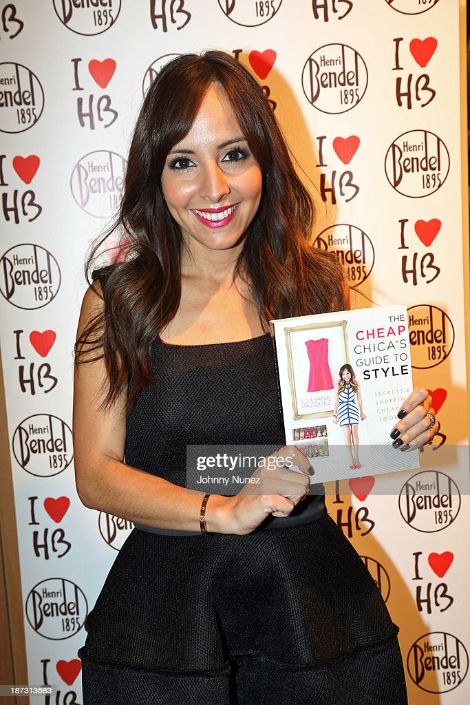 lillian vazquez visits henri bendel photos and images getty images rh gettyimages ca cheap chica's guide to style