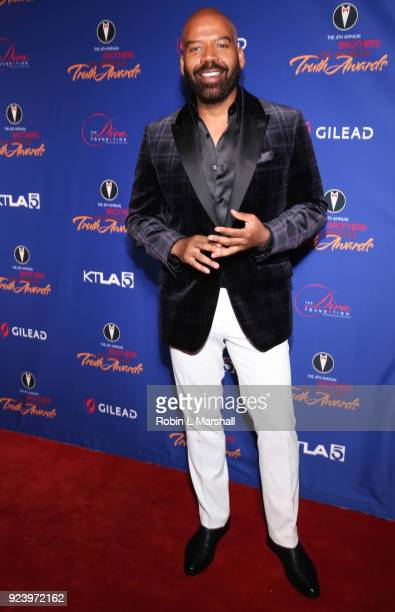 Style Expert Lloyd Boston attends the 4th Annual Truth Awards at Taglyan Cultural Complex on February 24 2018 in Hollywood California