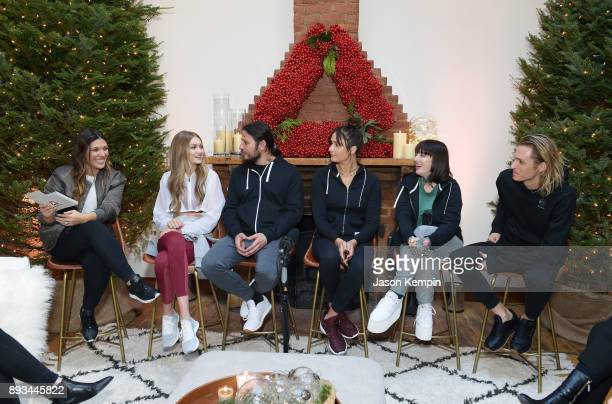 Style icon and Reebok ambassador Gigi Hadid today hosted an intimate holiday celebration joined by her closest collaborators Michele Barmash Rob...