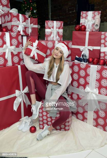 Style icon and Reebok ambassador Gigi Hadid today hosted an intimate holiday celebration joined by her closest collaborators on December 14 2017 in...