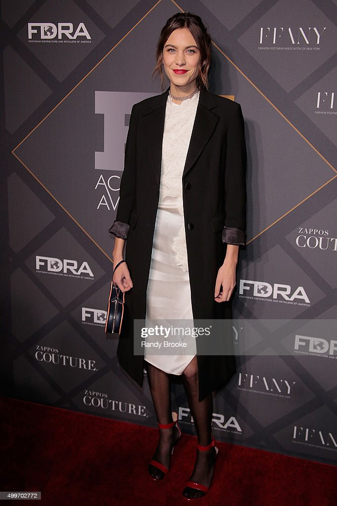 Style influencer of the Year, Alexa Chung attends the 29th FN Achievement Awards at IAC Headquarters on December 2, 2015 in New York City.