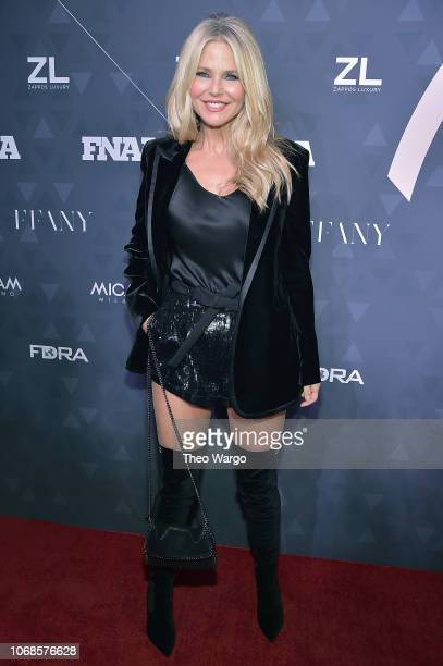 Style Influencer of the Year, model Christie Brinkley attends the 2018 Footwear News Achievement Awards at IAC Headquarters on December 4, 2018 in...