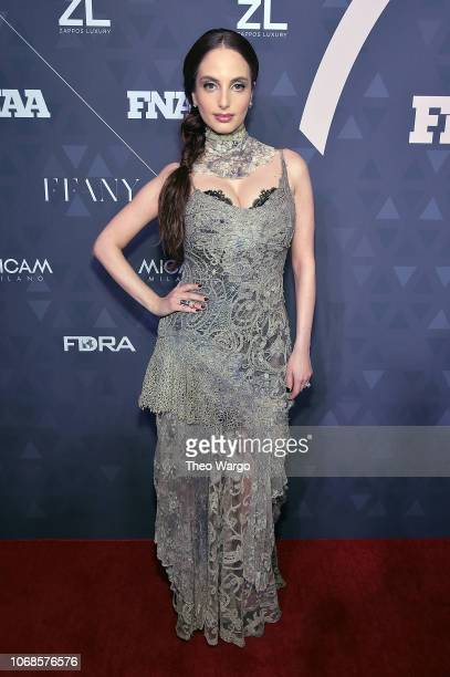 FN style influencer of the year singersongwriter Alexa Ray Joel attends the 2018 Footwear News Achievement Awards at IAC Headquarters on December 4...