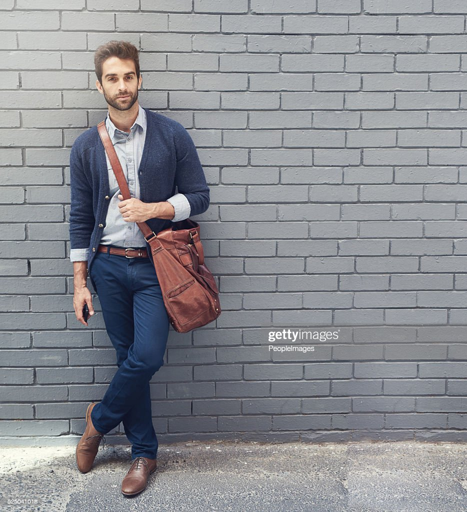 Style that matches his ambition : Stock Photo