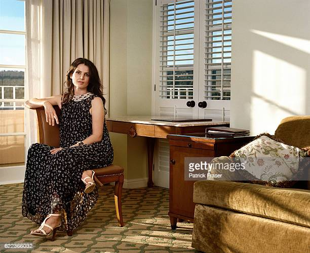 Styled by Deborah Ferguson, hair by Tony Chavez and makeup by Kela Wong. Dress by Phillip Lim 3.1, cuff by Isharya at Fenwick with shoes by Jimmy...