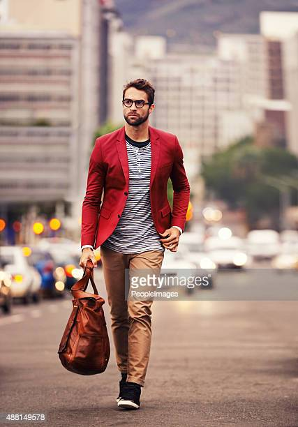 styled for the city - blazer jacket stock pictures, royalty-free photos & images