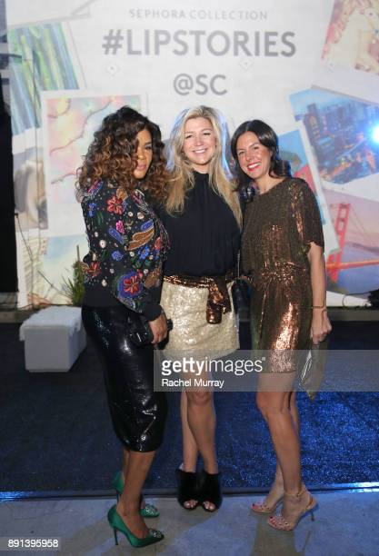 StyleHaul EVP Client Solutions Dawn Reese StyleHaul CEO Stephanie Horbaczewski and StyleHaul CMO Tracy Crane attend the Sephora Collection...