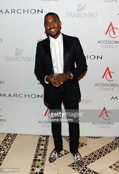 Stylemaker of the Year winner Kanye West attends the 14th Annual ACE Awards presented by the Accessories Council at Cipriani 42nd Street on November...