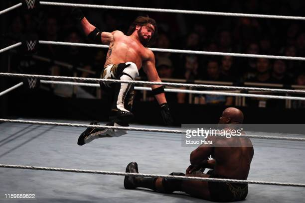 Styles and Bobby Lashley compete during the WWE Live Tokyo at Ryogoku Kokugikan on June 29, 2019 in Tokyo, Japan.