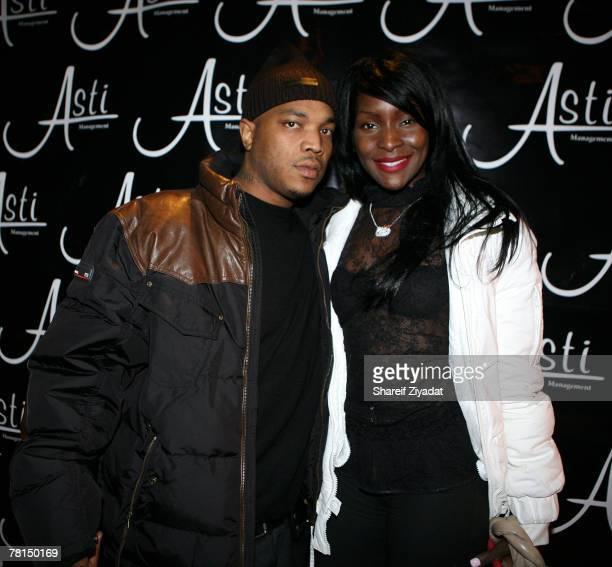 Styles P and Adjua attend his record release and surprise birthday party November 28 2007 at Stereo in New York City