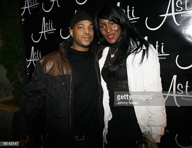 Styles P and Adjua attends Styles P's Surprise Birthday Party on November 28 2007 in New York City NY
