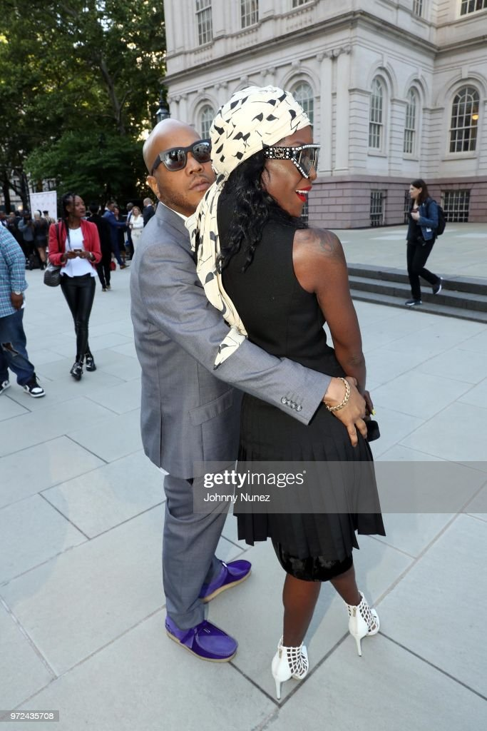 Styles P (L) and Adjua Styles attend the 3rd Annual Influence Awards at City Hall on June 11, 2018 in New York City.