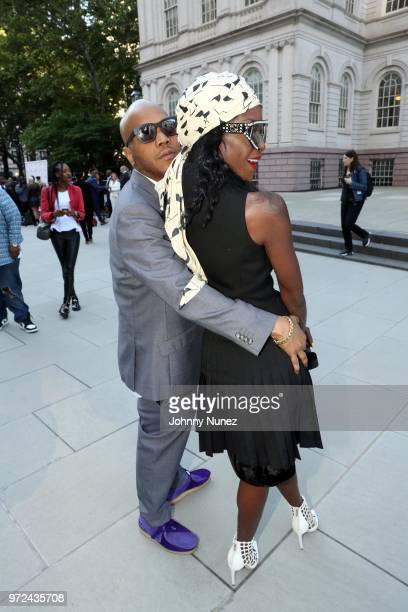 Styles P and Adjua Styles attend the 3rd Annual Influence Awards at City Hall on June 11 2018 in New York City