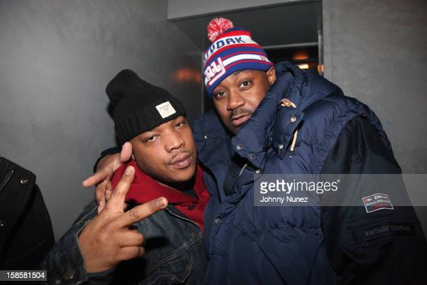 Styles P and Ghostface Killah backstage at Webster Hall on December 19 2012 in New York City