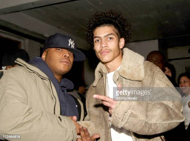 Styles P and Rick Gonzalez during Fight Club November 8 2004 at Secret Headquarters in New York City New York United States