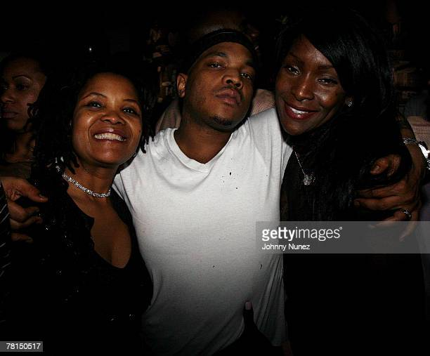 Styles P's Mother Styles P and Adjua attend Styles P's surprise birthday party at Stereo November 28 2007 in New York City