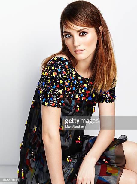 Leighton Meester, InStyle UK, November 1, 2014