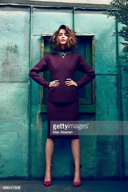 Styling by Elizabeth Cabral hair by Harry Josh and makeup by Hung Vanngo Top and skirt by Lanvin necklace by Lionette Designs by Noa Sade ring by...