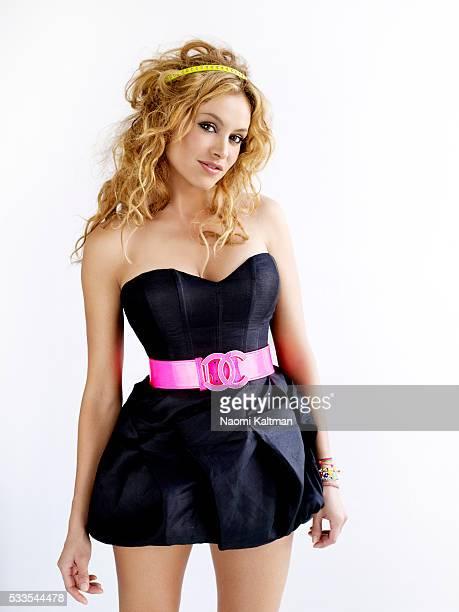 Fernanda Aragones and Mauricio Valdespino Hair and Makeup Tony Lucha Dress by Bebe belt by Chanel headband by Jennifer Behr