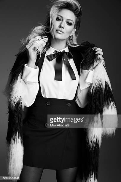 Juliana Schiavinatto Hair Justin German Makeup Sabrina Rinaldi Manicure Melissa Forrest Coat by Diesel Blouse by Alexander McQueen Vest by Maison...