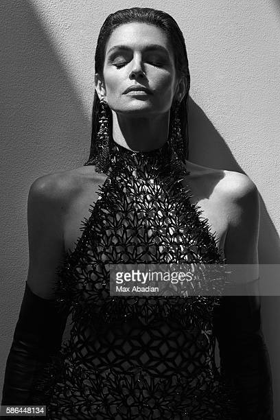 Juliana Schiavinatto Hair Marcus Francis Makeup Jo Baker Manicure Tom Bachik Digitally fabricated 3D dress by Iris Van Herpen in collaboration with...