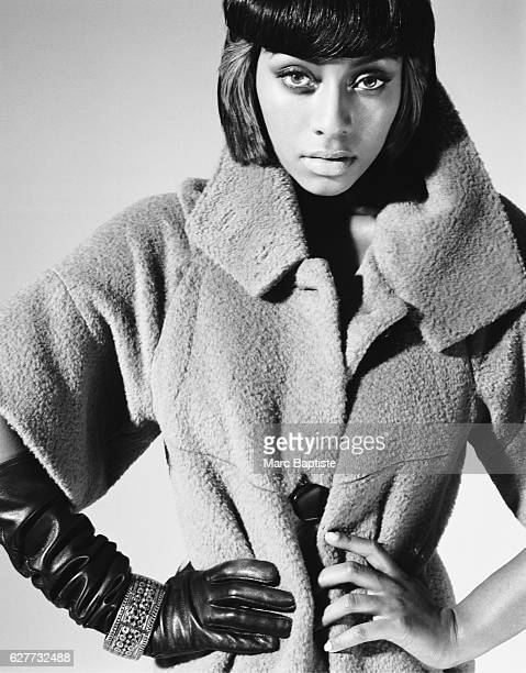 Kithe Brewster Makeup Aminata Gueye Coat by Hanii Y Bracelet by Juicy Couture Glove by Rubin Singer