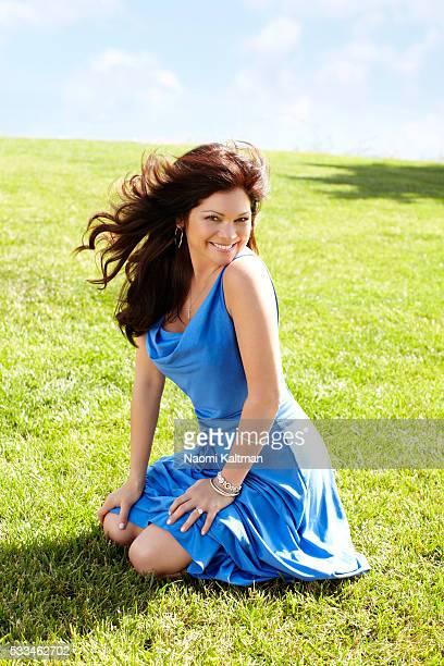 Linda Medvene Hair Roque makeup Carol Shaw Manicure Lisa Postma Dress by Diane Von Furstenberg