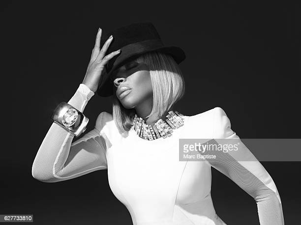 Marni Senofonte Hair Kim Kimble Makeup D'Andre Michael Manicure Kimmie Kyees Dress by Thierry Mugler hat by Gucci necklace and cuff from PRB Showroom...