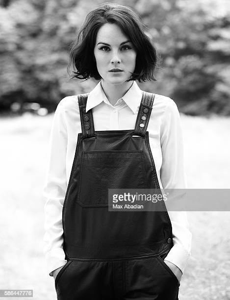 Nicola Rose Hair Ben Cooke Makeup Ashley Ward Leather Dungarees by Zadig Voltaire Silk Shirt by Equipment Shoes by Mulberry