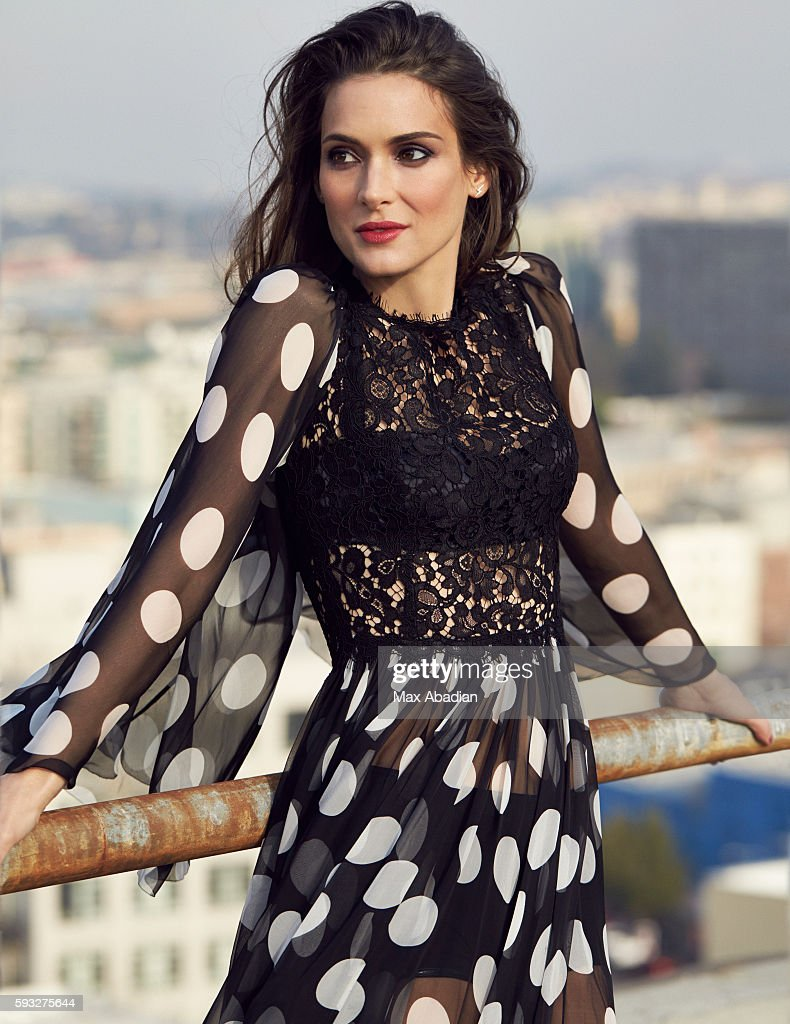 Winona Ryder, Red Magazine, April 1, 2014 : News Photo