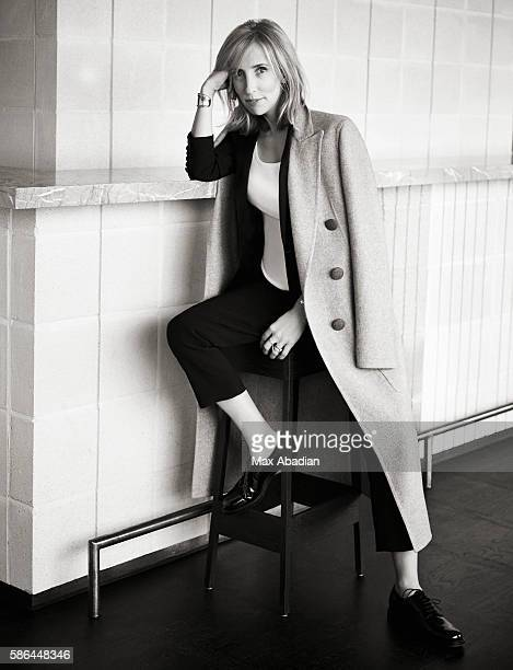 Nicola Rose Hair Tony Collins Makeup Liz Pugh Nails Toni Jade Cashmere Coat by Celine Wool and silk jacket by Saint Laurent by Hedi Slimane Cotton...