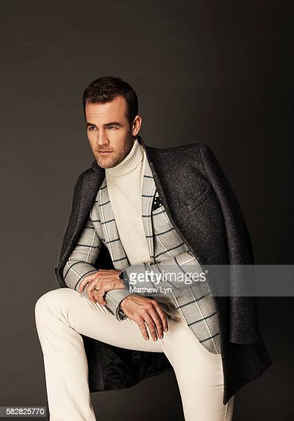 Randy Smith Makeup Taylor Savage Hair Rafael Estrella Dunn Turtleneck by Sand Woolblend coat by Ben Sherman Wool Blazer by Sand Cotton pants by BOSS...