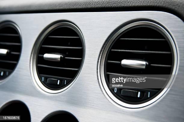 stylish air ventilation in a sports car