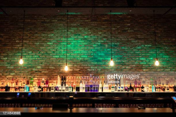 stylish bar - inside of stock pictures, royalty-free photos & images