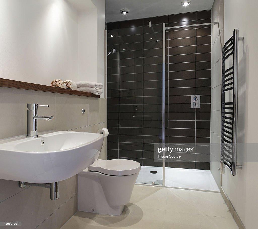 Stylish bathroom : Stock Photo