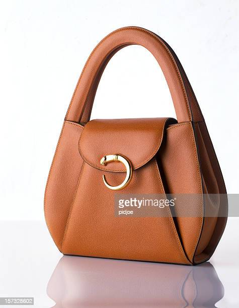 stylish fashionable handbag - leather purse stock pictures, royalty-free photos & images