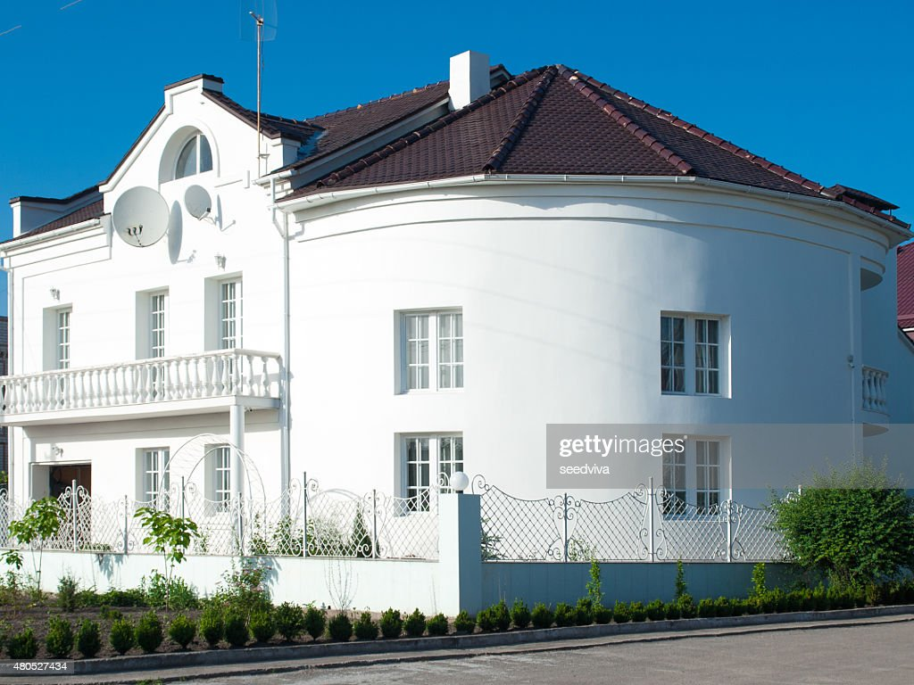 Stylish house : Bildbanksbilder