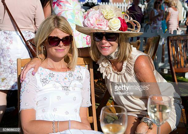 Stylish ladies at 'Glorious Goodwood' Goodwood Racecourse 30th July 2014