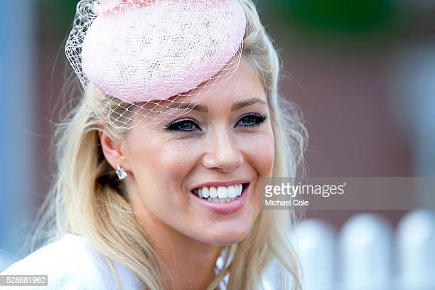 Stylish lady at 'Glorious Goodwood' Goodwood Racecourse 30th July 2014