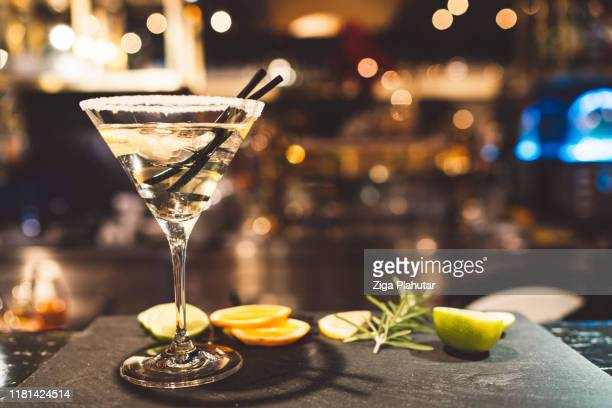 stylish martini - cocktail stock pictures, royalty-free photos & images