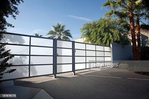 Stylish Modernism Residential Security Gate