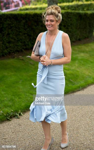 Stylish Racegoer 'Ladies Day' at 'Glorious Goodwood' The Qatar Goodwood Festival at Goodwood Racecourse August 3 2017 in Chichester England