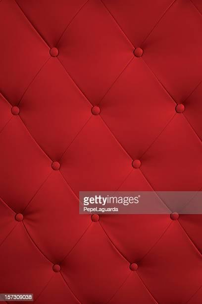 Élégante garniture rouge